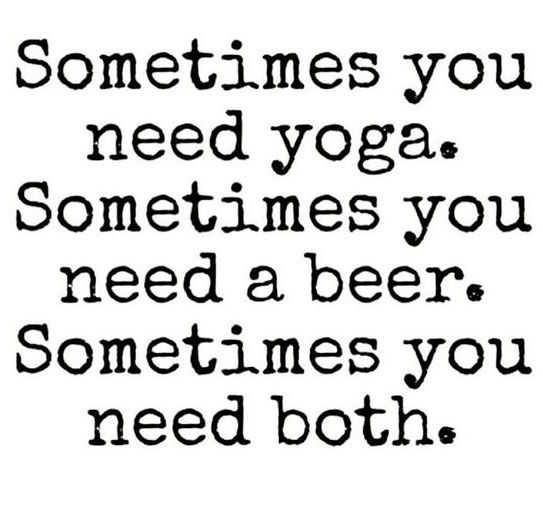 Beer Yoga   Hot Chakras Yoga ® Pinterest